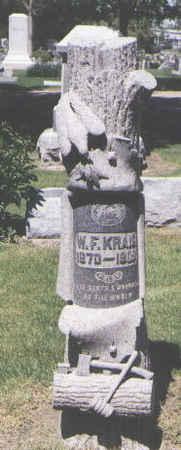 KRAIG, W. F. - Boulder County, Colorado   W. F. KRAIG - Colorado Gravestone Photos