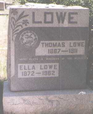 LOWE, THOMAS - Boulder County, Colorado | THOMAS LOWE - Colorado Gravestone Photos