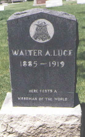 LUCE, WALTER A. - Boulder County, Colorado | WALTER A. LUCE - Colorado Gravestone Photos