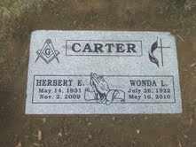 CARTER, WONDA L. - Boulder County, Colorado | WONDA L. CARTER - Colorado Gravestone Photos