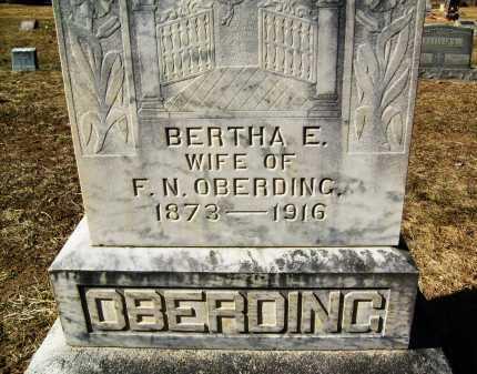 OBERDING, BERTHA E. - Boulder County, Colorado | BERTHA E. OBERDING - Colorado Gravestone Photos