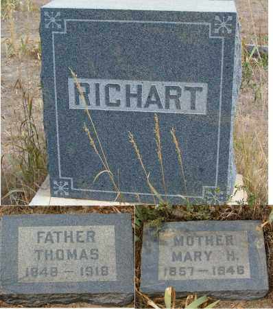 RICHART, THOMAS MARION - Boulder County, Colorado | THOMAS MARION RICHART - Colorado Gravestone Photos