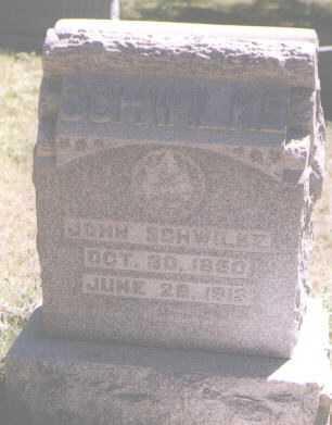 SCHWILKE, JOHN - Boulder County, Colorado | JOHN SCHWILKE - Colorado Gravestone Photos