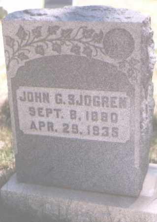 SJOGREN, JOHN G. - Boulder County, Colorado | JOHN G. SJOGREN - Colorado Gravestone Photos