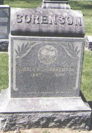 SORENSON, HARLEY J. - Boulder County, Colorado | HARLEY J. SORENSON - Colorado Gravestone Photos
