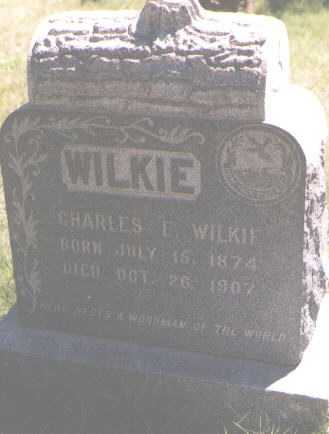 WILKIE, CHARLES E. - Boulder County, Colorado   CHARLES E. WILKIE - Colorado Gravestone Photos