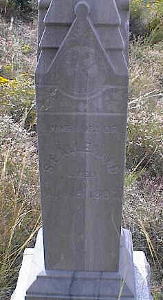 ALLEMAND, S.E. - Chaffee County, Colorado | S.E. ALLEMAND - Colorado Gravestone Photos