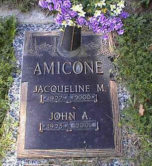 AMICONE, JOHN A. - Chaffee County, Colorado | JOHN A. AMICONE - Colorado Gravestone Photos