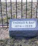 BAY, THOMAS R. - Chaffee County, Colorado | THOMAS R. BAY - Colorado Gravestone Photos