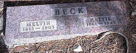 BECK, HATTIE - Chaffee County, Colorado | HATTIE BECK - Colorado Gravestone Photos