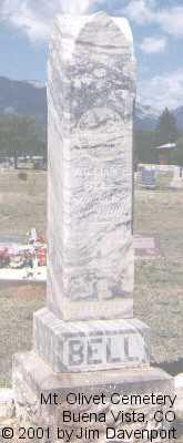 BELL, WILLIAM E. - Chaffee County, Colorado   WILLIAM E. BELL - Colorado Gravestone Photos