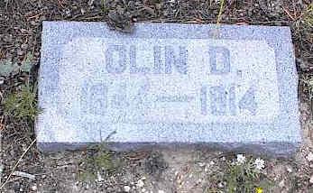 BEMENT, OLIN D. - Chaffee County, Colorado   OLIN D. BEMENT - Colorado Gravestone Photos