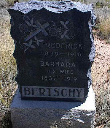 BERTSCHY, FREDERICK - Chaffee County, Colorado | FREDERICK BERTSCHY - Colorado Gravestone Photos