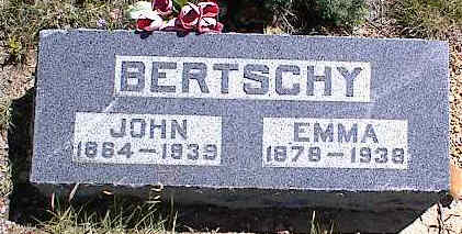 BERTSCHY, JOHN B. - Chaffee County, Colorado | JOHN B. BERTSCHY - Colorado Gravestone Photos