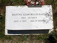 BILLIS-BAKER, MARTHA LEAH - Chaffee County, Colorado | MARTHA LEAH BILLIS-BAKER - Colorado Gravestone Photos