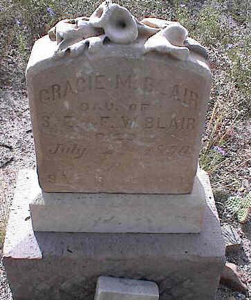 BLAIR, GRACIE M. - Chaffee County, Colorado | GRACIE M. BLAIR - Colorado Gravestone Photos