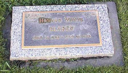 BLAKEY, HOWARD WHYTE - Chaffee County, Colorado | HOWARD WHYTE BLAKEY - Colorado Gravestone Photos