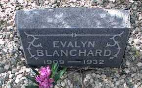 BLANCHARD, EVALYN - Chaffee County, Colorado | EVALYN BLANCHARD - Colorado Gravestone Photos