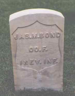 BOND, JAS. M. - Chaffee County, Colorado | JAS. M. BOND - Colorado Gravestone Photos