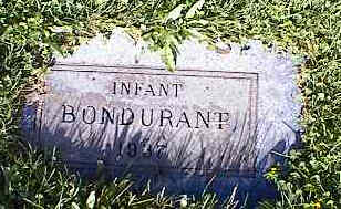 BONDURANT, INFANT - Chaffee County, Colorado | INFANT BONDURANT - Colorado Gravestone Photos