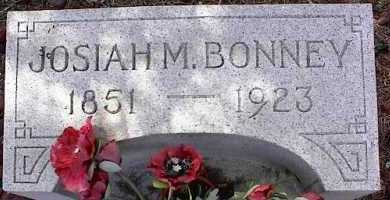 BONNEY, JOSIAH M. - Chaffee County, Colorado | JOSIAH M. BONNEY - Colorado Gravestone Photos