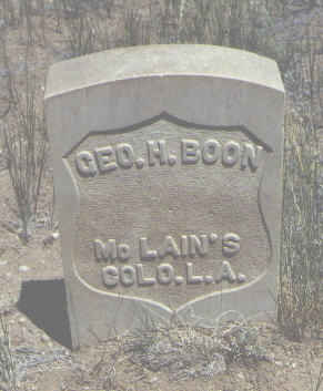 BOON, GEO. H. - Chaffee County, Colorado | GEO. H. BOON - Colorado Gravestone Photos