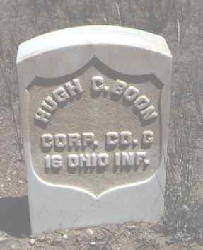 BOON, HUGH C. - Chaffee County, Colorado | HUGH C. BOON - Colorado Gravestone Photos
