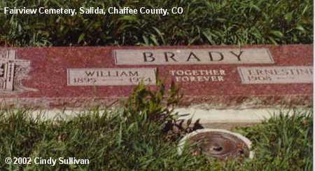 BRADY, ERNESTINE - Chaffee County, Colorado | ERNESTINE BRADY - Colorado Gravestone Photos
