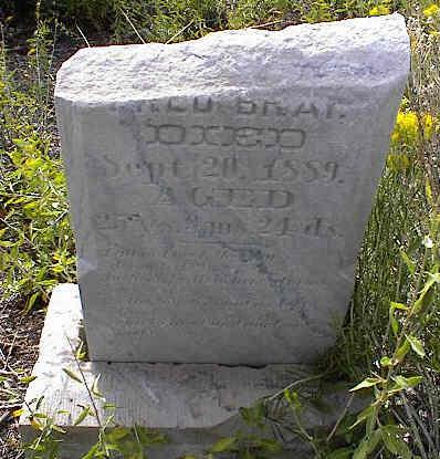 BRAY, FRED ? - Chaffee County, Colorado | FRED ? BRAY - Colorado Gravestone Photos