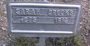 BROOKS, SARAH - Chaffee County, Colorado | SARAH BROOKS - Colorado Gravestone Photos