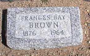 BROWN, FRANCES - Chaffee County, Colorado | FRANCES BROWN - Colorado Gravestone Photos
