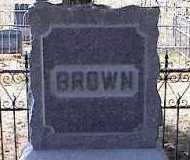 BROWN, MONUMENT STONE - Chaffee County, Colorado | MONUMENT STONE BROWN - Colorado Gravestone Photos