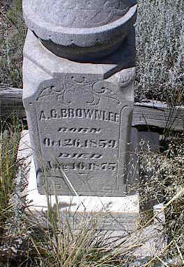 BROWNLEE, A. C. - Chaffee County, Colorado | A. C. BROWNLEE - Colorado Gravestone Photos