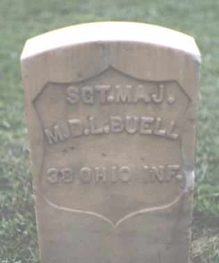 BUELL, M. D. L. - Chaffee County, Colorado | M. D. L. BUELL - Colorado Gravestone Photos