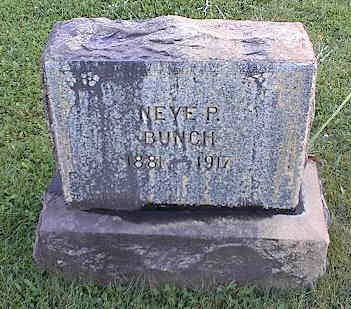 BUNCH, NEYE P. - Chaffee County, Colorado | NEYE P. BUNCH - Colorado Gravestone Photos