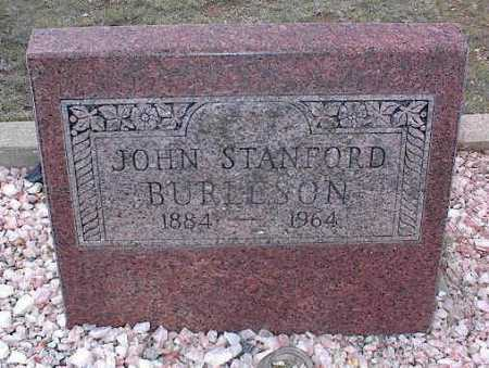 BURLESON, JOHN STANFORD - Chaffee County, Colorado | JOHN STANFORD BURLESON - Colorado Gravestone Photos