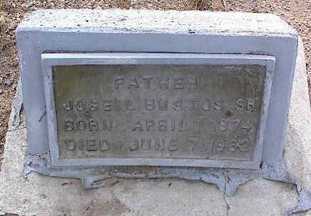 BUSTOS, JOSE, SR. - Chaffee County, Colorado | JOSE, SR. BUSTOS - Colorado Gravestone Photos