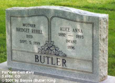 BUTLER, INFANT - Chaffee County, Colorado | INFANT BUTLER - Colorado Gravestone Photos