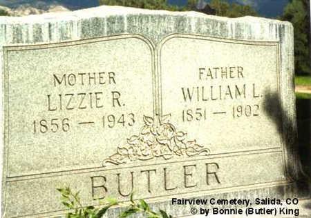 BUTLER, WILLIAM L. - Chaffee County, Colorado   WILLIAM L. BUTLER - Colorado Gravestone Photos