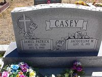 CASEY, JACQUELINE M. - Chaffee County, Colorado | JACQUELINE M. CASEY - Colorado Gravestone Photos