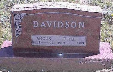 BLAKELY DAVIDSON, ETHEL FLORENTINE - Chaffee County, Colorado   ETHEL FLORENTINE BLAKELY DAVIDSON - Colorado Gravestone Photos