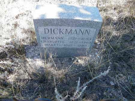 DICKMAN, HERMANN - Chaffee County, Colorado | HERMANN DICKMAN - Colorado Gravestone Photos