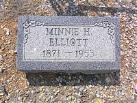 ELLIOTT, MINNIE - Chaffee County, Colorado | MINNIE ELLIOTT - Colorado Gravestone Photos