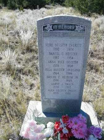 HEISTER, DANIEL C., JR. - Chaffee County, Colorado | DANIEL C., JR. HEISTER - Colorado Gravestone Photos