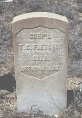 FLETCHER, T. C. - Chaffee County, Colorado | T. C. FLETCHER - Colorado Gravestone Photos