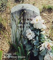 GALVIN, FRANKIE - Chaffee County, Colorado | FRANKIE GALVIN - Colorado Gravestone Photos