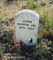 GALVIN, JOHN, JR. - Chaffee County, Colorado | JOHN, JR. GALVIN - Colorado Gravestone Photos