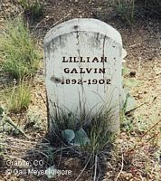 GALVIN, LILLIAN - Chaffee County, Colorado | LILLIAN GALVIN - Colorado Gravestone Photos