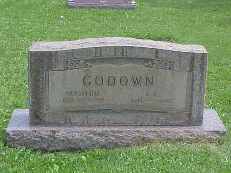 LAGREE GODOWN, VERTILINE - Chaffee County, Colorado | VERTILINE LAGREE GODOWN - Colorado Gravestone Photos