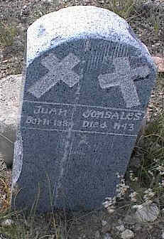 GONSALES, JUAN - Chaffee County, Colorado | JUAN GONSALES - Colorado Gravestone Photos